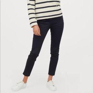 EUC H&M Slim Slacks High-Waisted Ankle Length